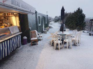 Snow at Finch Farm Dec 2017